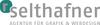 Mini logo werbegrafik selthafner