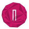 Mini logon pink