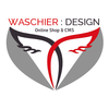Mini waschier design logo small square