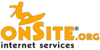 Mini onsite surfer logo